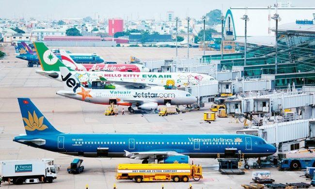 95,4% chuyến bay của các hãng hàng không Việt Nam cất cánh đúng giờ