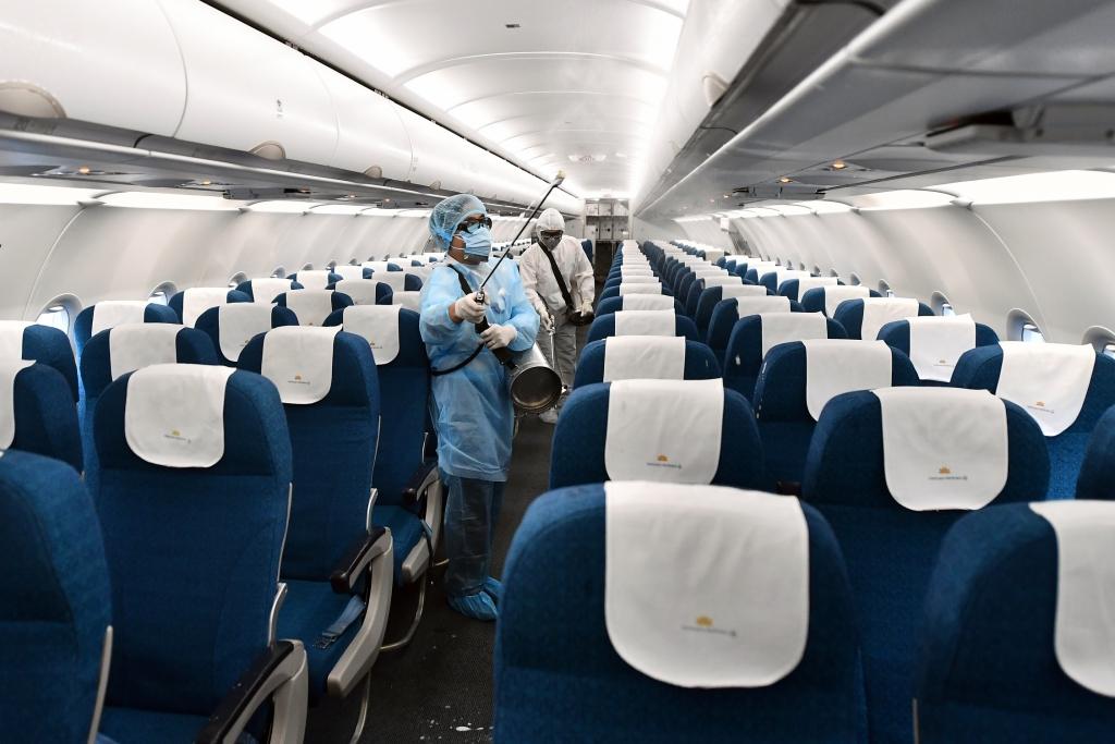 Hàng không Việt Nam siết chặt phòng, chống dịch dịp Tết Nguyên đán