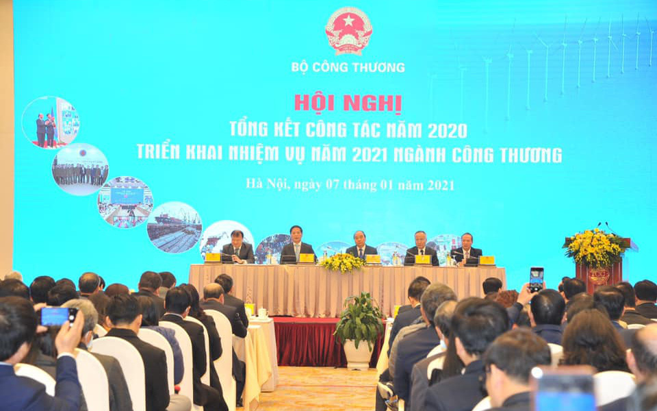 Thủ tướng: Ngành Công Thương phải tạo ra môi trường tốt hơn cho doanh nghiệp phát triển