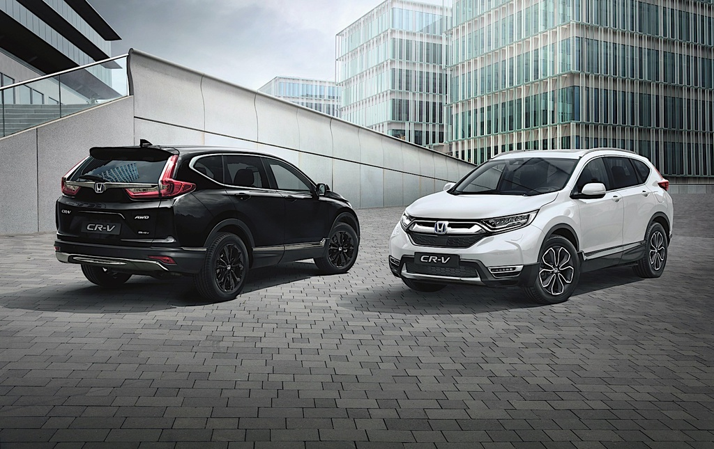 Honda CR-V 2021 tại châu Âu có thêm phiên bản Sport Line