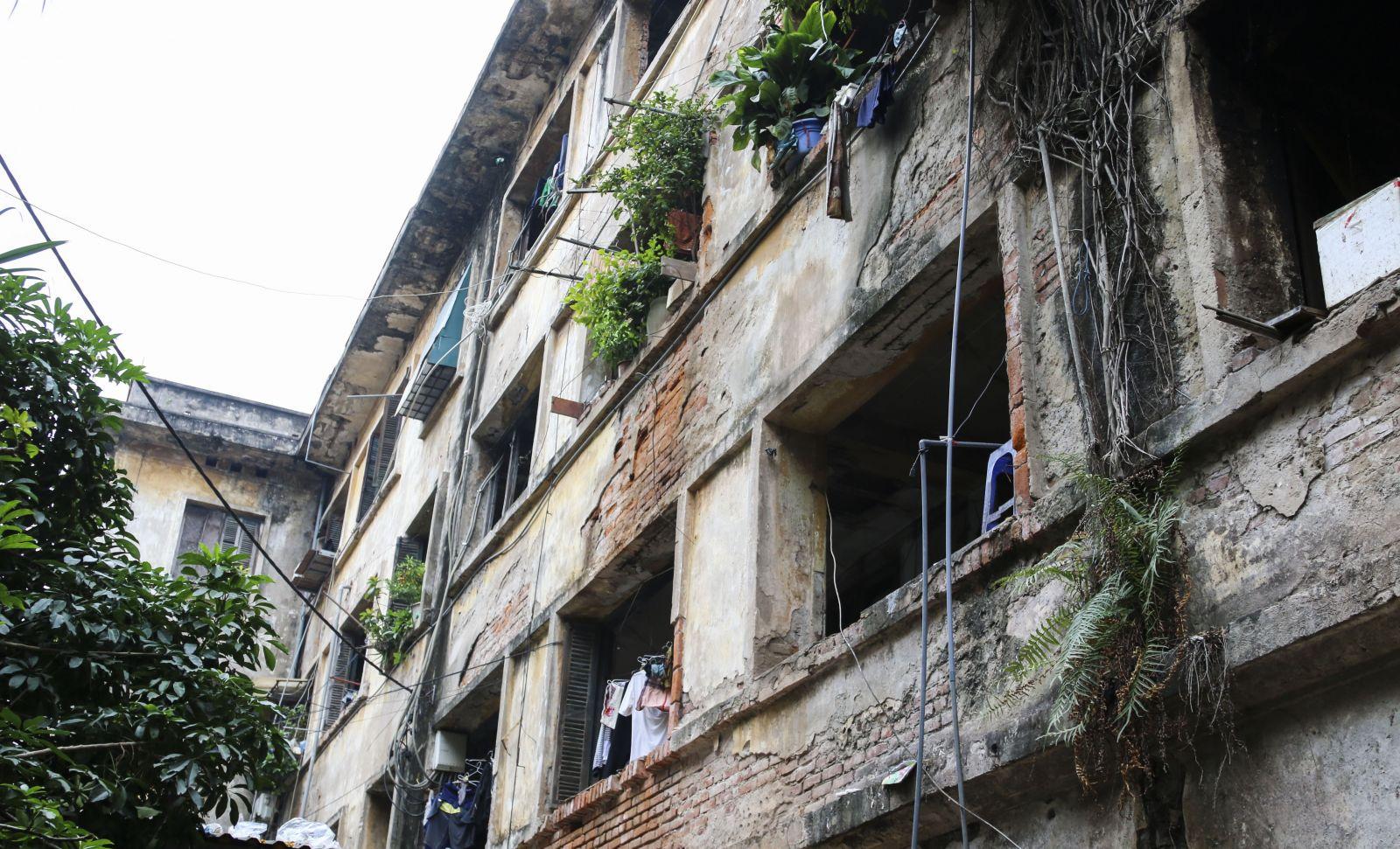 Công tác cải tạo chung cư cũ đang ở mức rất cấp thiết!