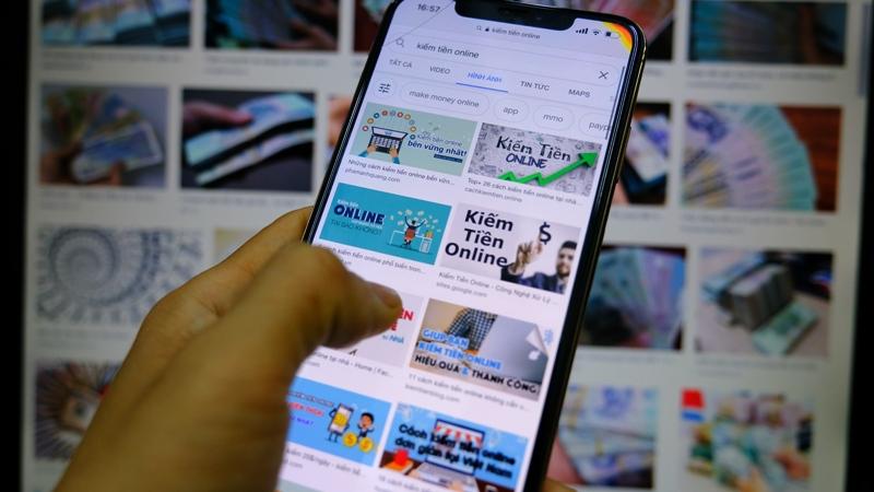 Cảnh báo sập bẫy vì đầu tư kiếm tiền online