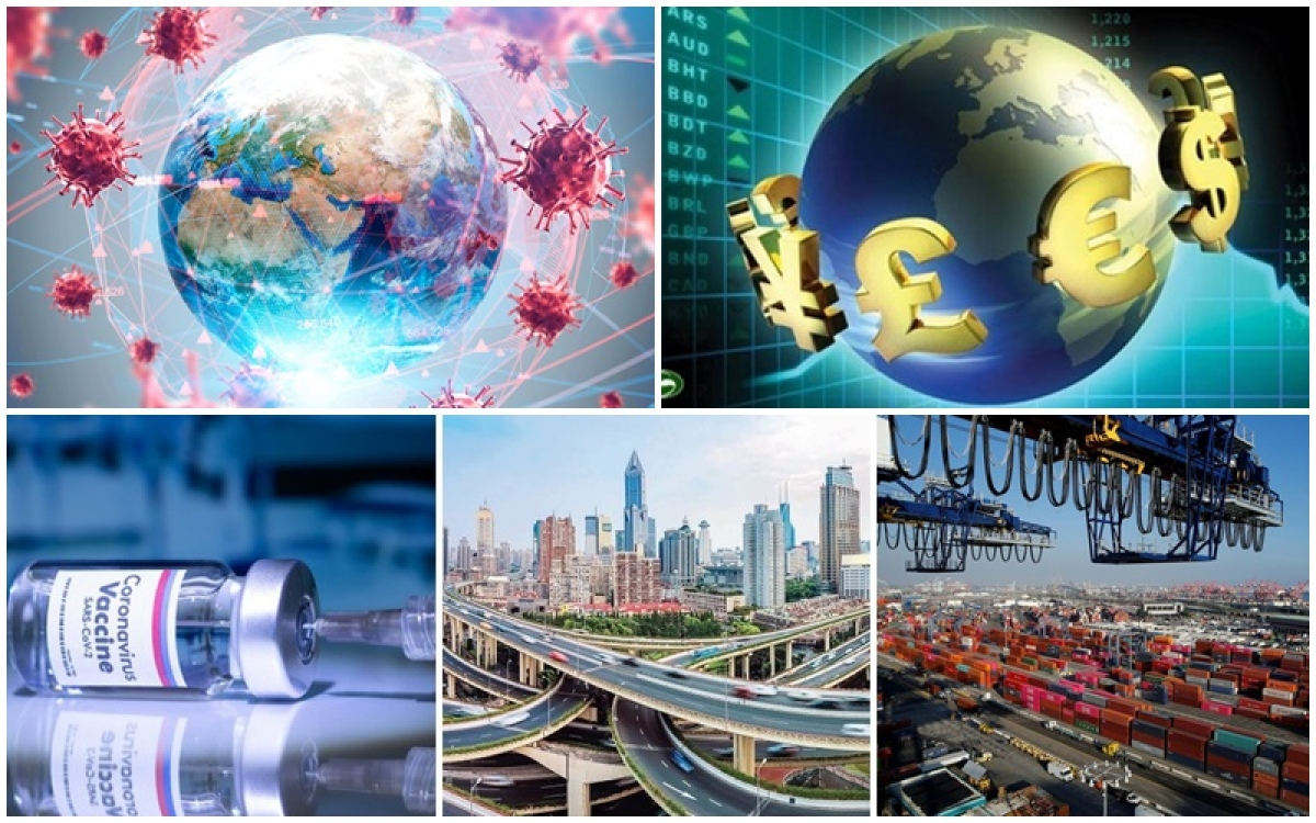 """Kinh tế thế giới 2021: Thoát khỏi """"bóng đen"""" Covid-19 và sẽ phục hồi?"""