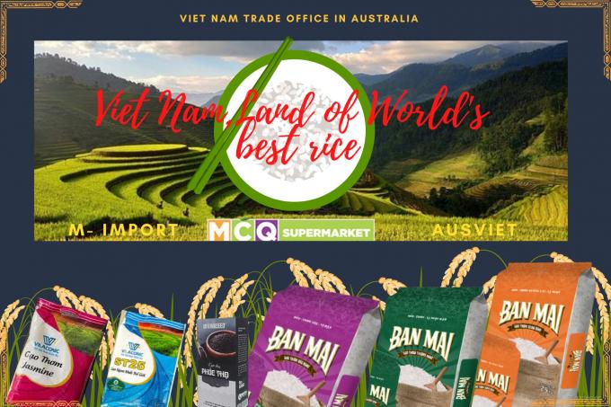 Hơn 10.000 người tiêu dùng Úc sẽ được mời dùng thử gạo