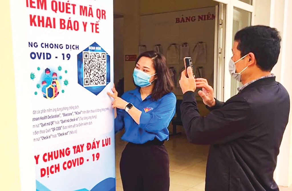 Hà Nội yêu cầu thực hiện triệt để việc quét mã QR tại cơ quan, công sở