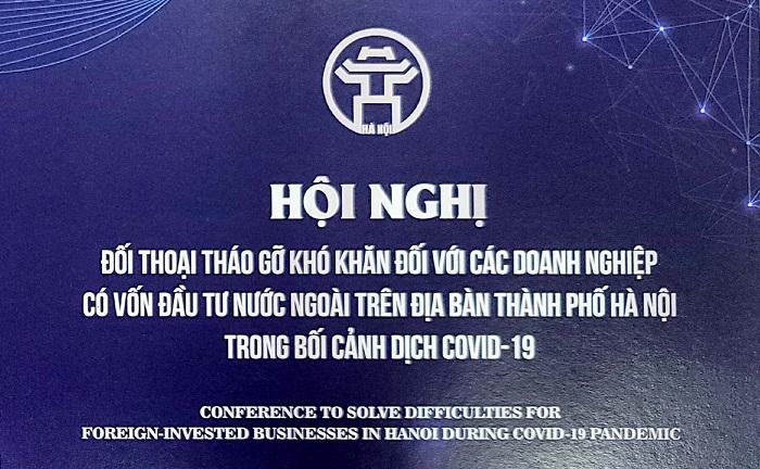 Hà Nội :Chuẩn bị hội nghị đối thoại đối với các doanh nghiệp có vốn đầu tư nước ngoài