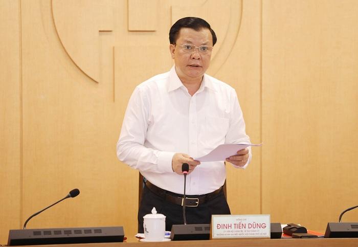 Bí thư Thành ủy Hà Nội Đinh Tiến Dũng: Không để bị động trong mọi tình huống