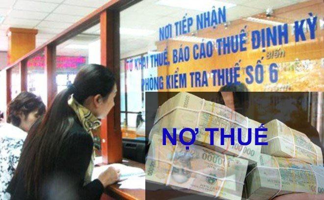 Cục Thuế Hà Nội công khai danh sách 2.026 tổ chức nợ thuế, phí