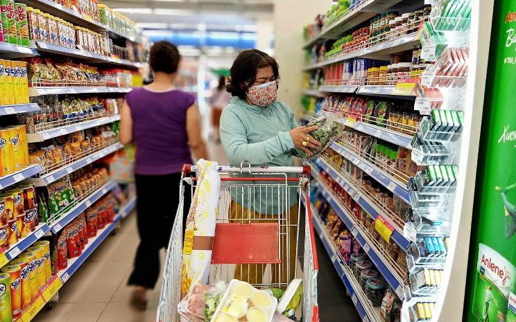 Tổng mức bán lẻ hàng hóa và doanh thu dịch vụ tiêu dùng ước đạt 405,1 nghìn tỷ đồng