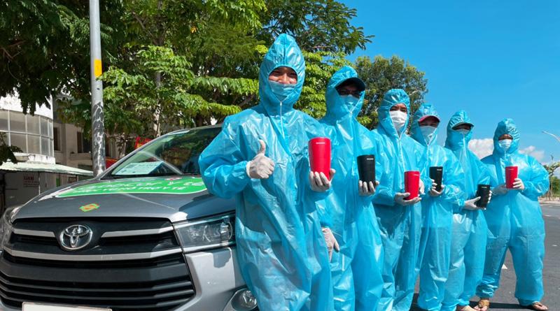 150 xe GrabCar Y tế được trang bị giải pháp không khí sạch toàn diện nanoe X của Panasonic