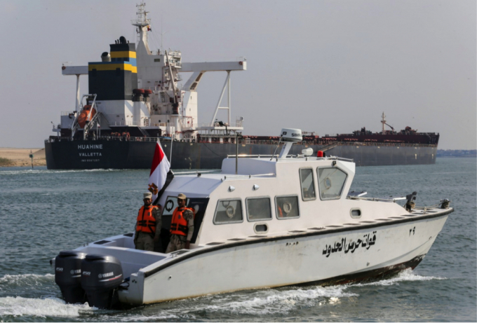 Liên tiếp 2 tàu dầu gặp sự cố, kênh đào Suez lại ùn tắc cục bộ