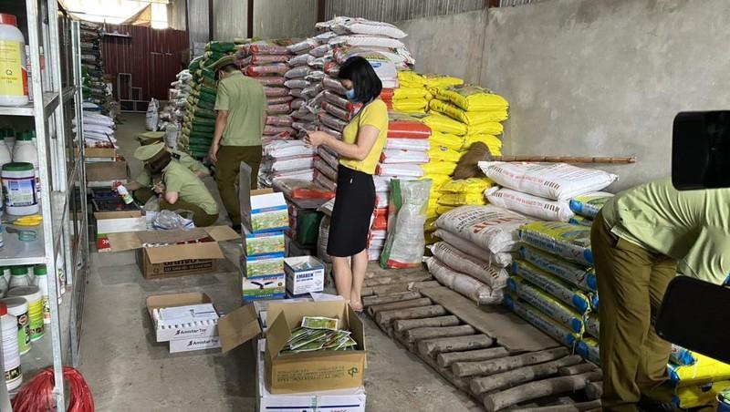 Hà Giang: Phát hiện gần 4 nghìn sản phẩm thuốc bảo vệ thực vật đã hết hạn sử dụng