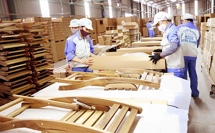 6 tháng đầu năm xuất khẩu gỗ và lâm sản ước đạt 8,71 tỷ USD