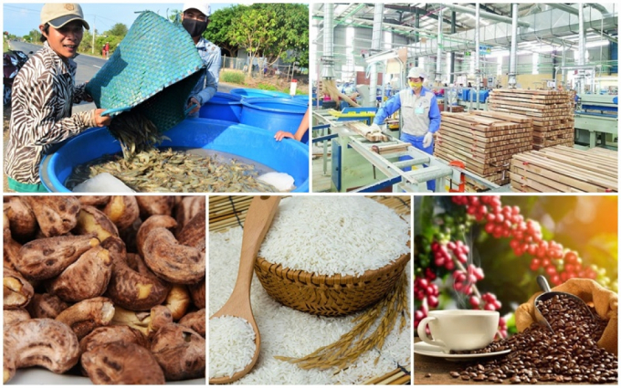 Xuất khẩu nông lâm thủy sản 4 tháng đầu năm đạt khoảng 17,15 tỷ USD