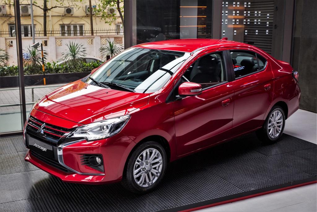 Mitsubishi Attrage Premium được ra mắt, giá 485 triệu đồng