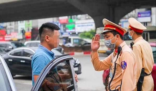 CSGT Hà Nội xử lý trên 430.000 trường hợp vi phạm Nghị định 100