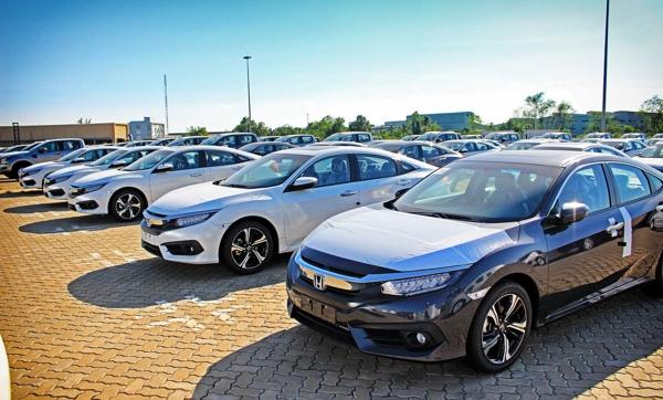 Ô tô nhập khẩu tháng giáp Tết giảm mạnh
