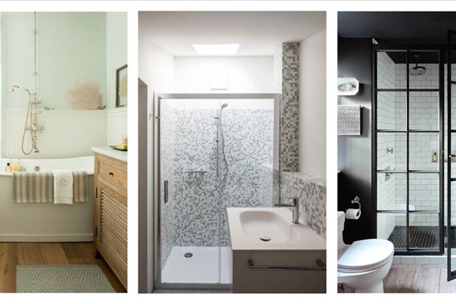 7 giải pháp tối đa hóa không gian phòng tắm nhỏ