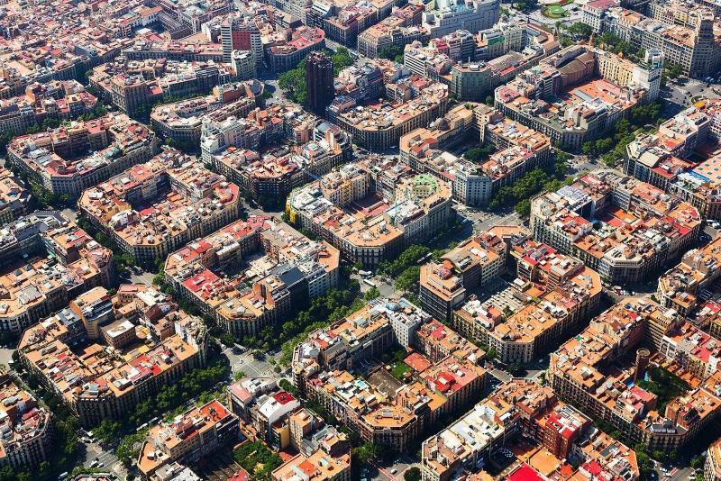 Các thành phố có quy hoạch độc đáo nhìn từ trên cao