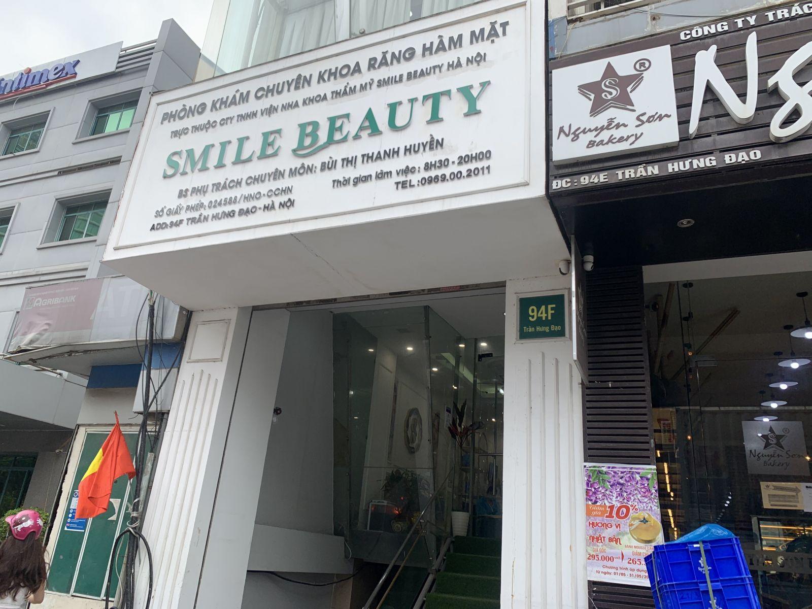 Hà Nội: Phòng khám Nha khoa Smile Beauty (94F Trần Hưng Đạo) vi phạm nhiều quy trình khám, điều trị?