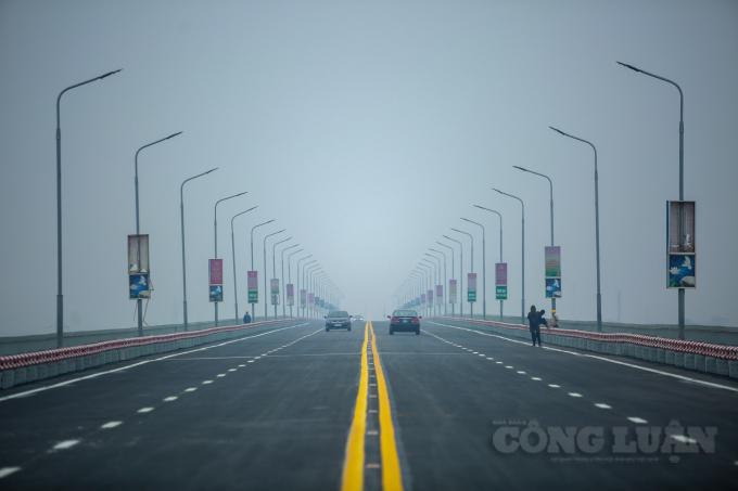 Khả năng chịu lực của cầu Thăng Long sẽ tăng gấp 3 lần