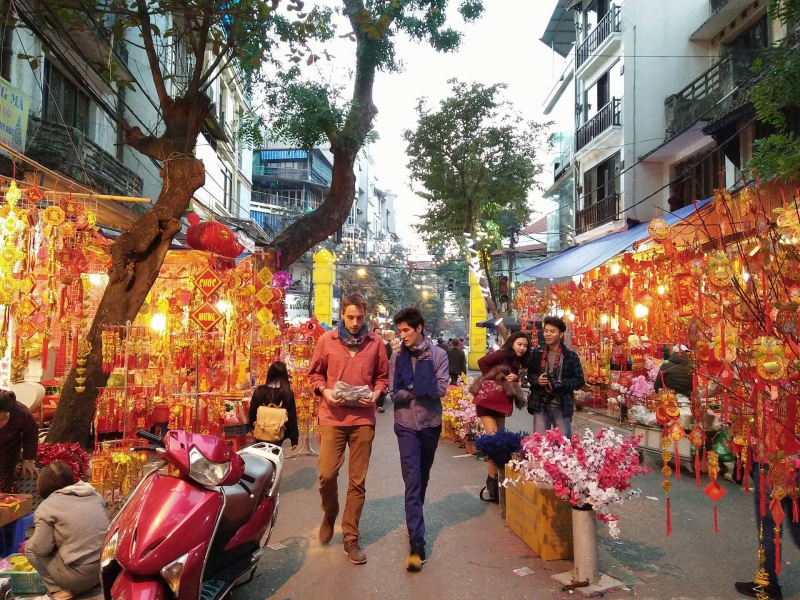 Check in những địa điểm vui chơi ngày tết ở Hà Nội