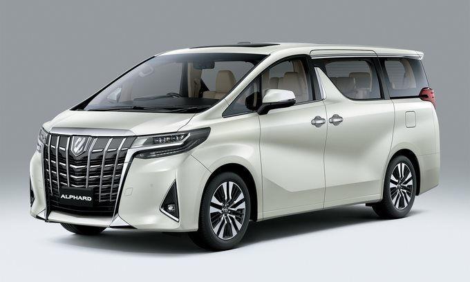 Toyota Alphard 2021 về Việt Nam giá từ 4,219 tỷ đồng