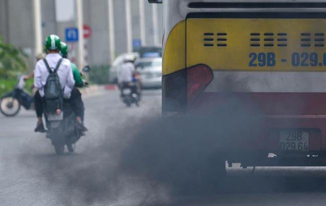 Hà Nội sẽ xử phạt xe xả khói đen, quá niên hạn