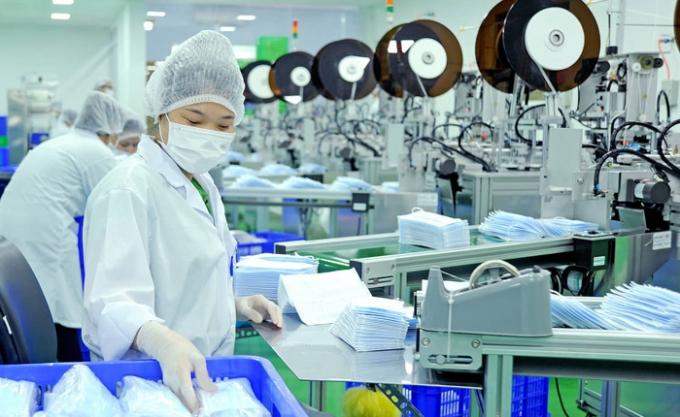 Việt Nam đã xuất khẩu hơn 1,37 tỷ chiếc khẩu trang