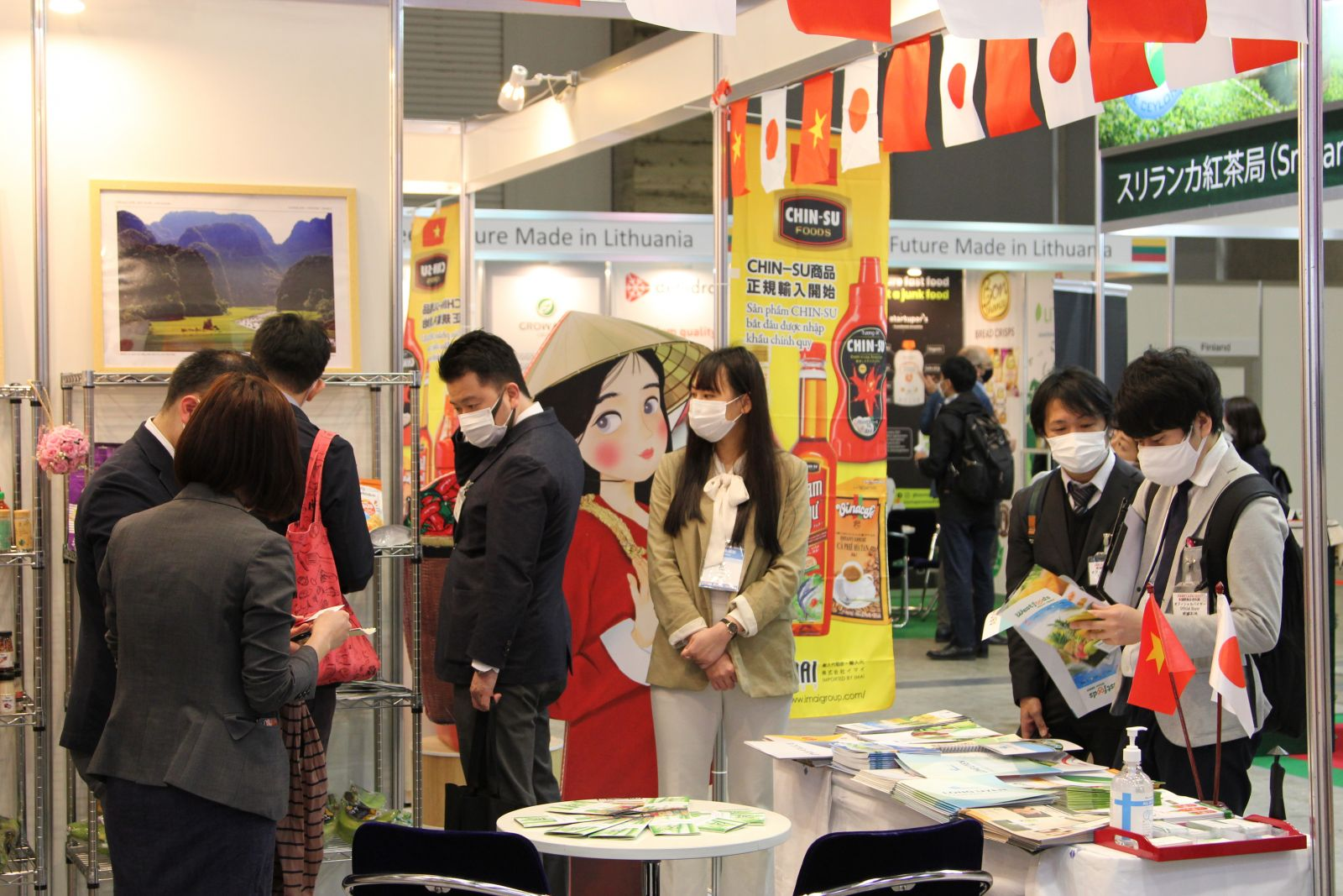 Foodex Japan là một trong những triển lãm quốc tế về thực phẩm và đồ uống lớn nhất Châu Á