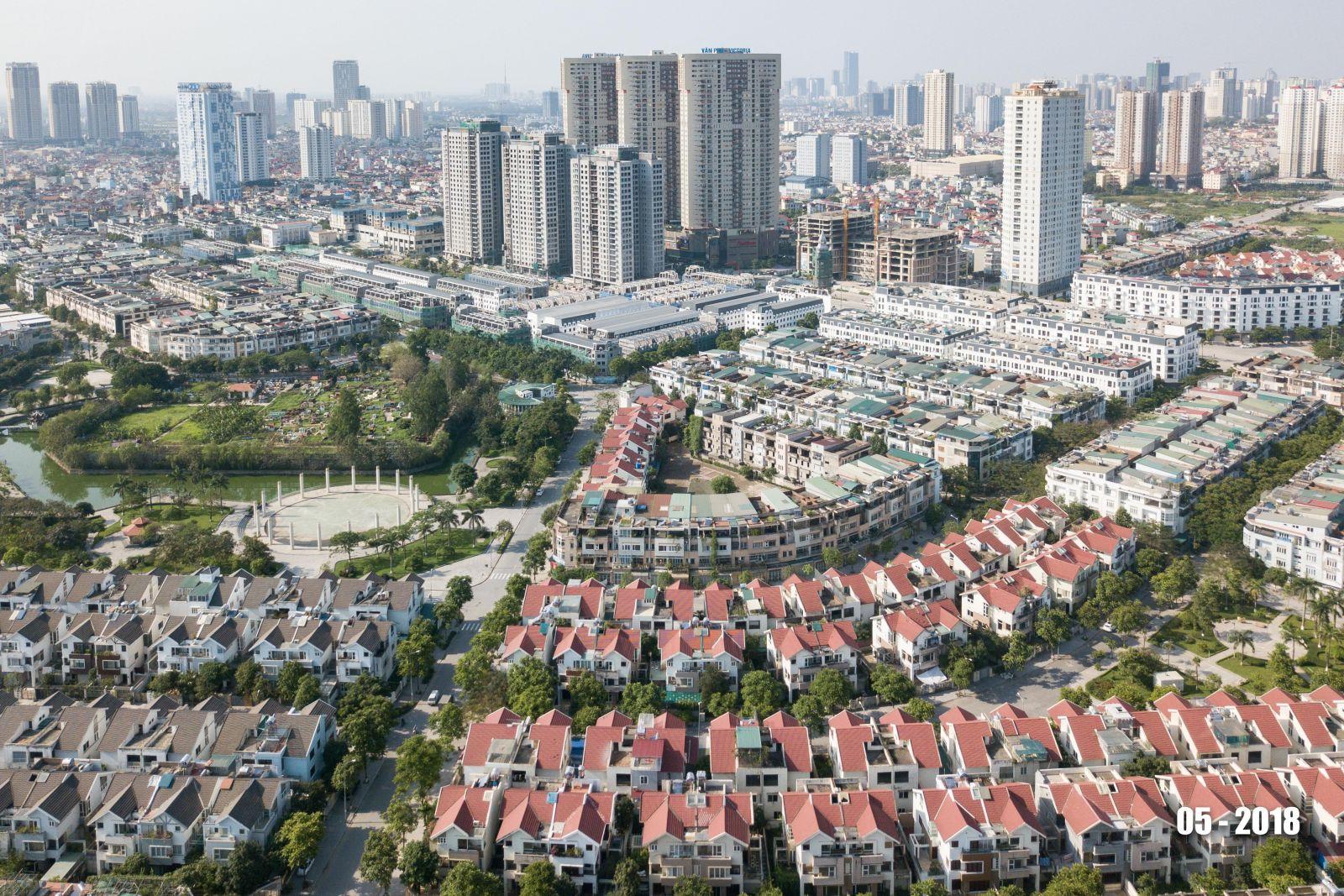 Khu đô thị mới Văn Phú, quận Hà Đông hiện đại, văn minh được xây dựng từ năm 2007
