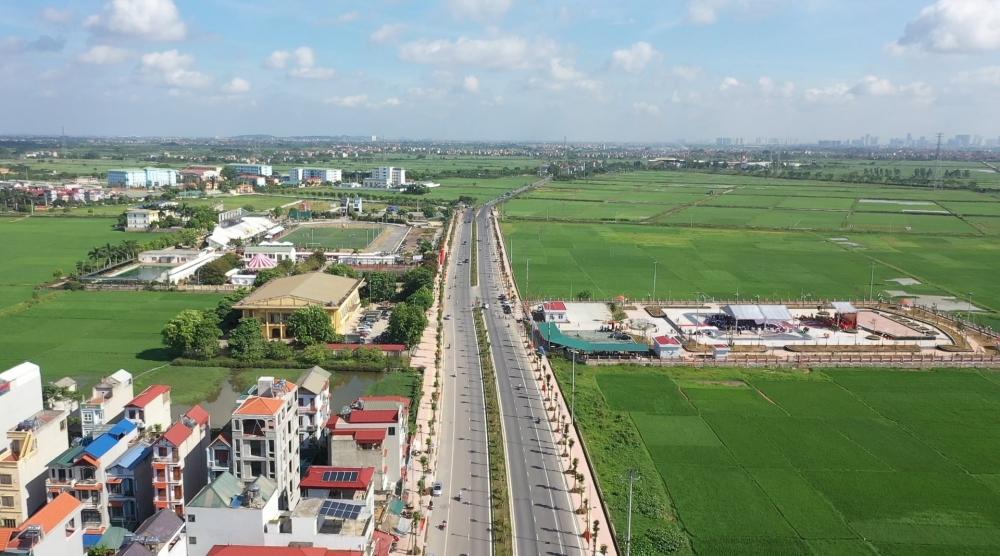 Huyện Thanh Oai đặt mục tiêu lên quận vào năm 2028. (Ảnh: Hồng Quang)