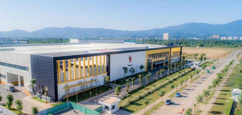 Toàn cảnh nhà máy Vsmart tại Khu công nghệ cao Hoà Lạc.