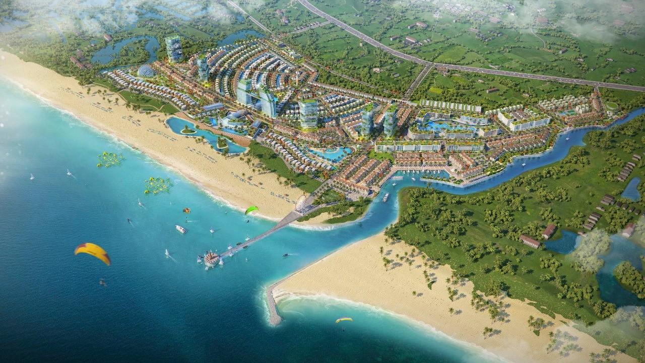 Với quy mô 72 ha, Venezia Beach chính thức ra mắt thị trường phân khu đầu tiên là The Venice với 681 sản phẩm thấp tầng mặt tiền biển sở hữu lâu dài, được Hưng Vượng Developer phát triển
