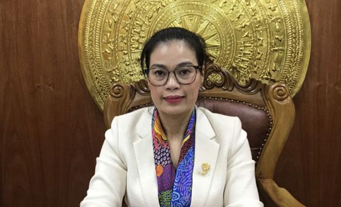 Giám đốc Sở Lao động - Thương binh và Xã hội Bạch Liên Hương.