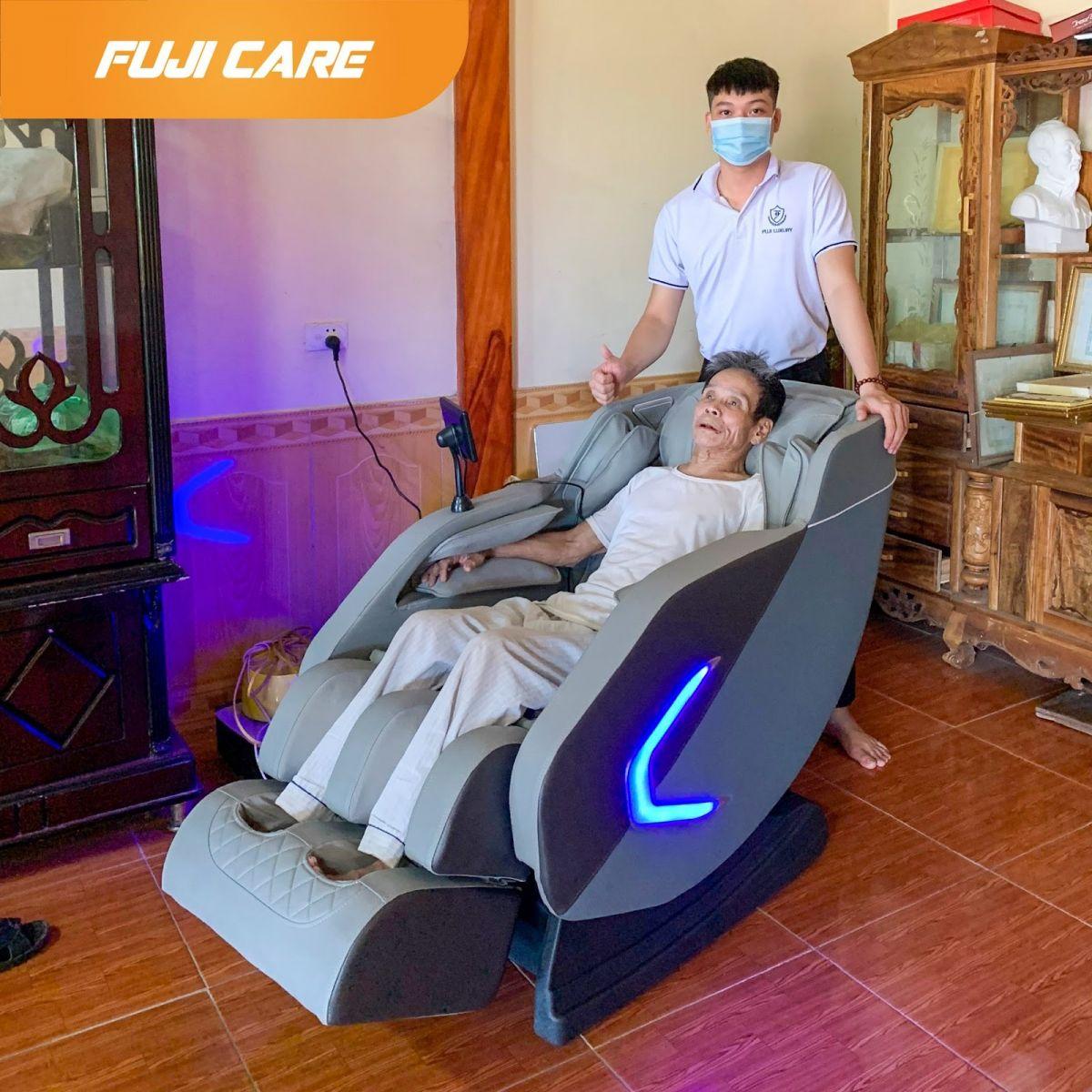 Ghế massage Fuji Care: Bảo vệ sức khỏe cộng đồng