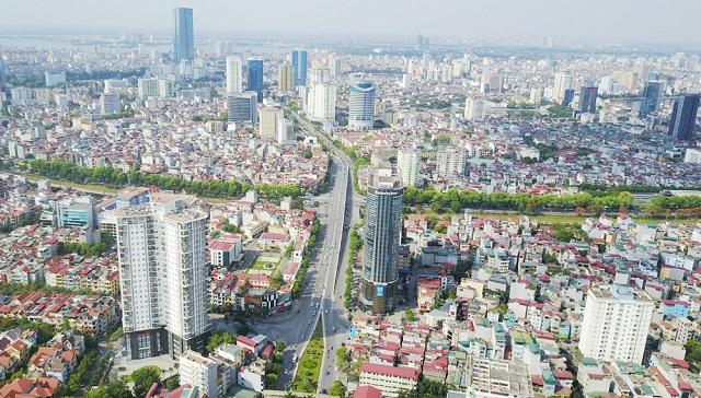 Một góc Thủ đô Hà Nội hôm nay.