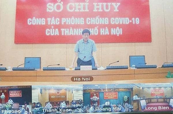 UBND TP Hà Nội đồng ý nới lỏng các biện pháp phòng dịch