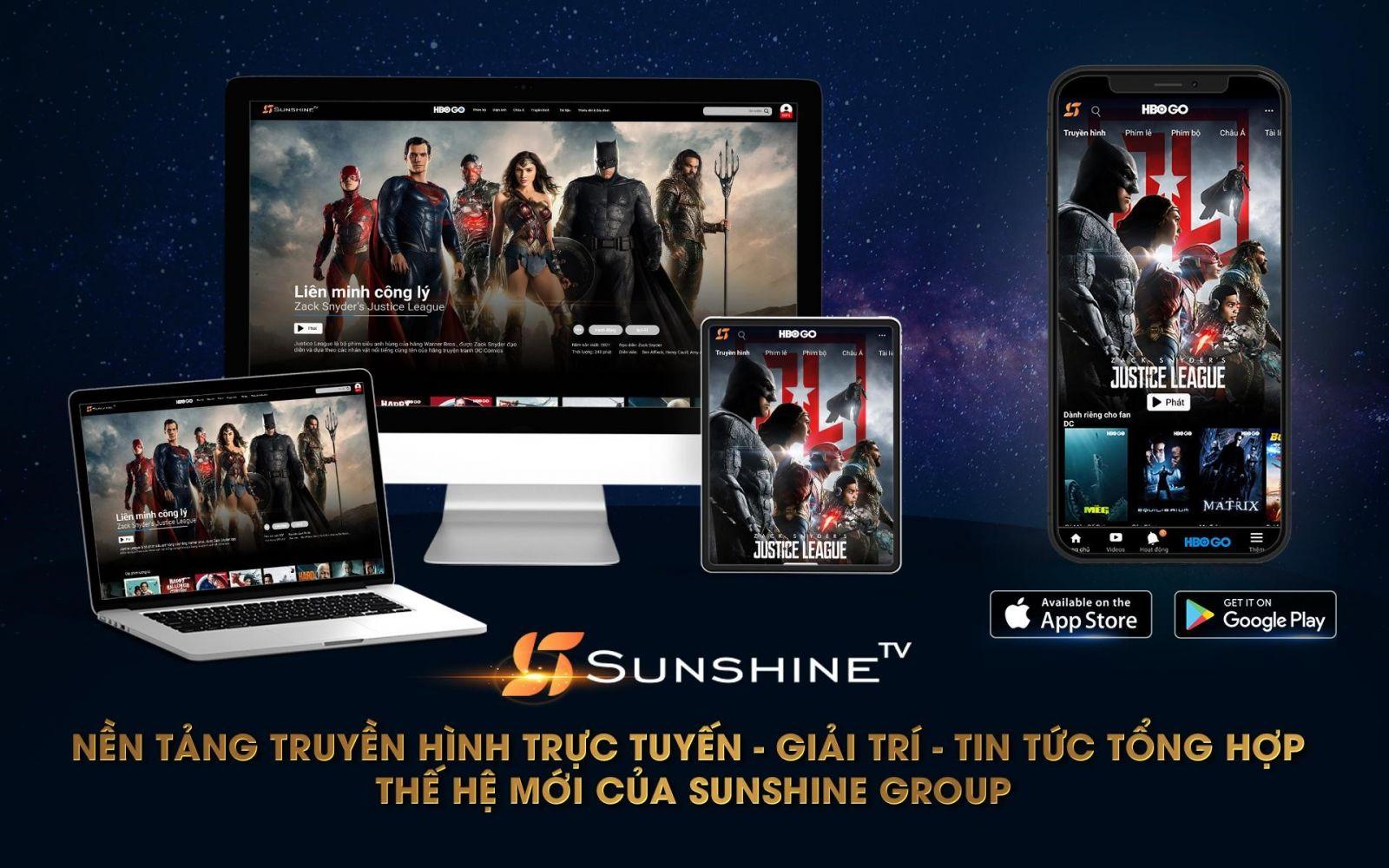 Ra mắt Sunshine TV