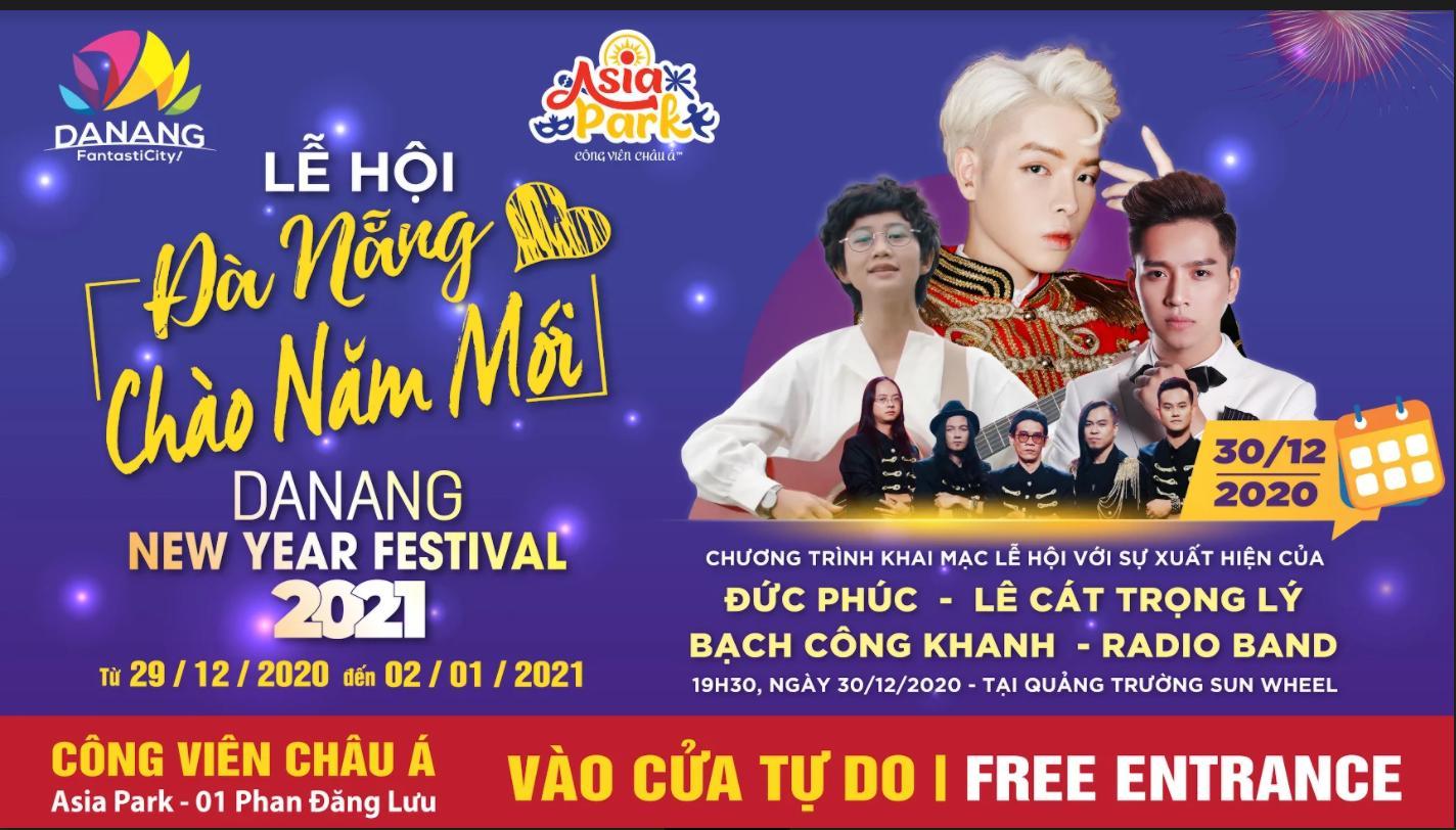 Lễ hội Đà Nẵng chào năm mới 2021