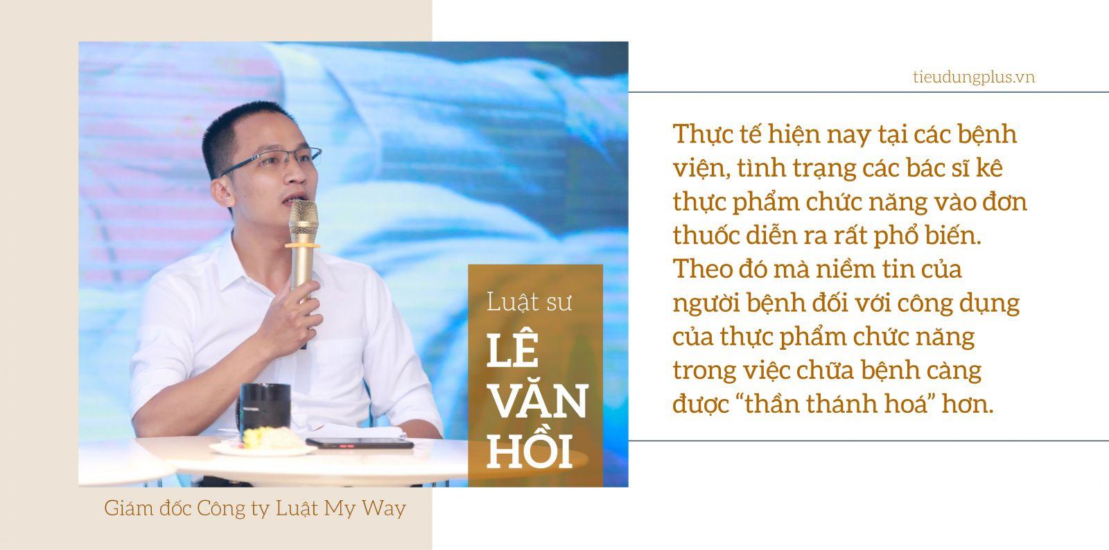 Luật sư Lê Văn Hồi, Giám đốc Công ty Luật My Way