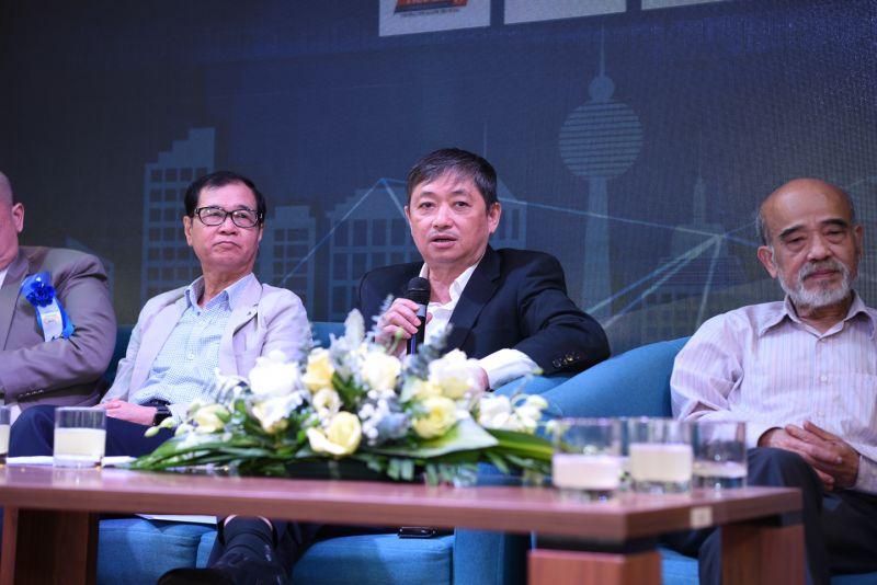 Ông Đặng Việt Dũng, Chủ tịch Tổng hội Xây dựng Việt Nam.