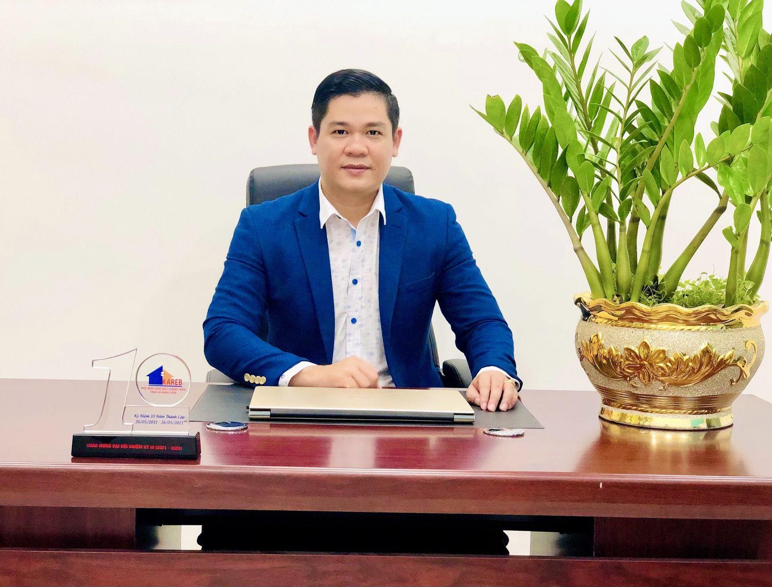 Ông Phan Việt Hoàng, Tổng Thư ký Hội Môi giới Bất động sản Khánh Hòa