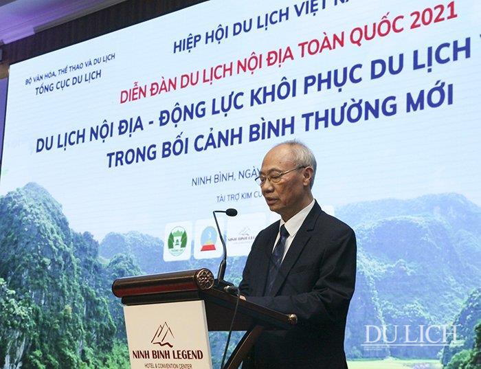 ông Vũ Thế Bình, Phó Chủ tịch Thường trực Hiệp hội Du lịch Việt Nam, Chủ tịch Hiệp hội Lữ hành Việt Nam