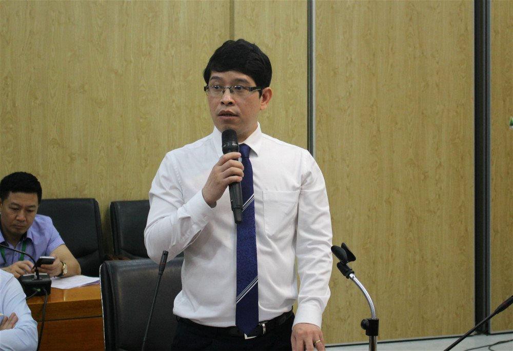 PGS.TS. Nguyễn Đình Thọ. Ảnh: I.T