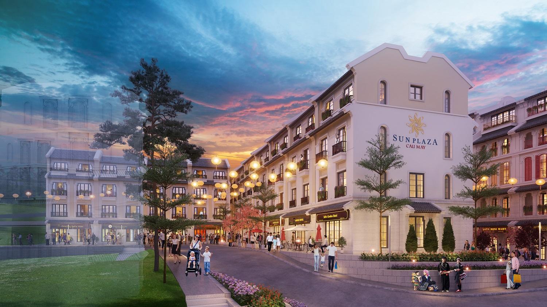 Sun Plaza Cau May sẽ đón đầu triển vọng bùng nổ của du lịch Sa Pa.