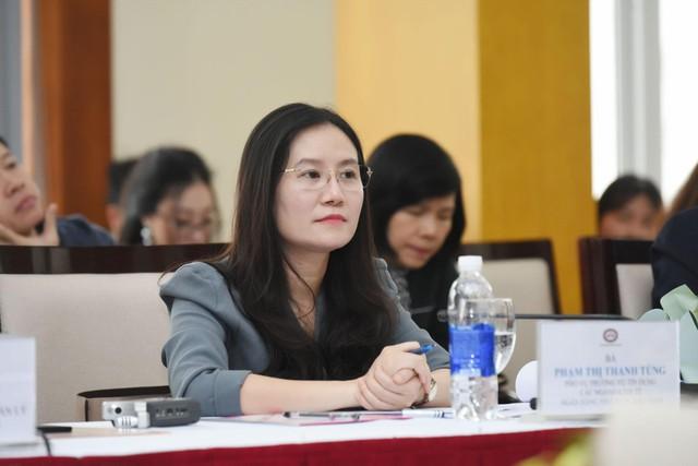 Bà Phạm Thị Thanh Tùng, Phó Vụ trưởng Vụ Tín dụng các ngành kinh tế (Ngân hàng Nhà nước)