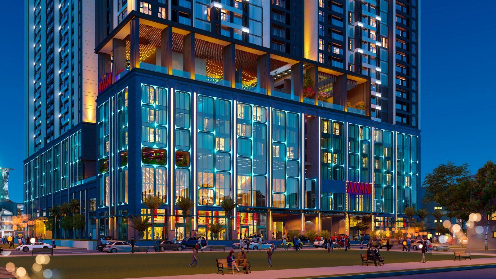 Khách sạn 5 sao Avani Saigon tọa lạc ngay khối đế dự án The Grand Manhattan.