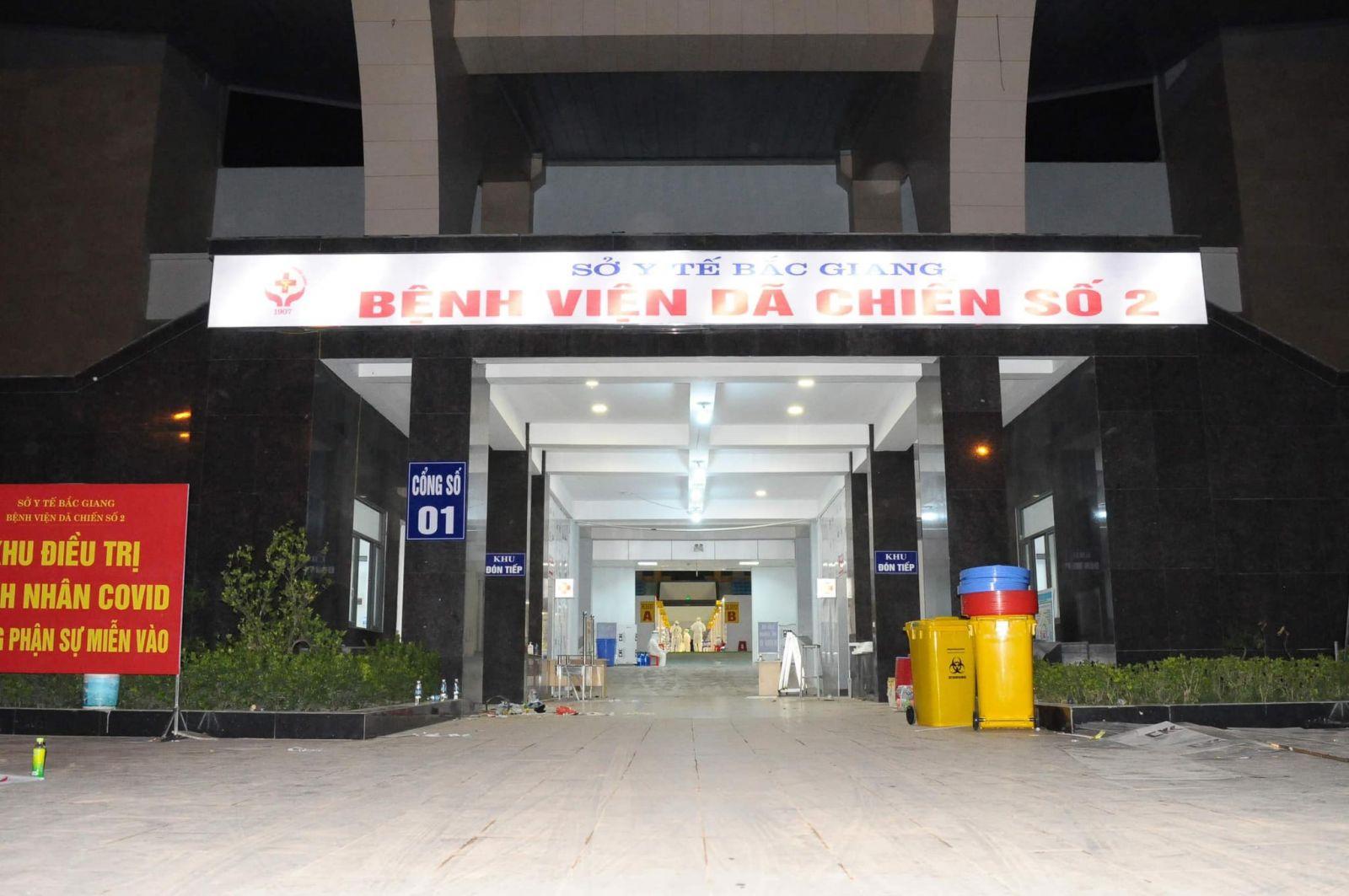 Bệnh viện dã chiến số 2 tỉnh Bắc Giang