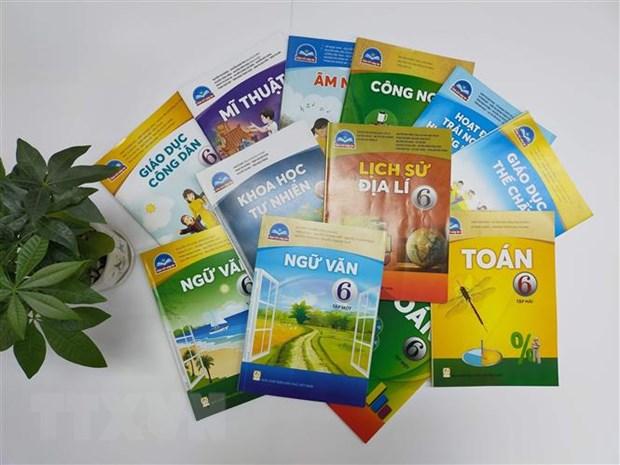 Bộ sách Chân trời sáng tạo lớp 6 của Nhà xuất bản Giáo dục Việt Nam.